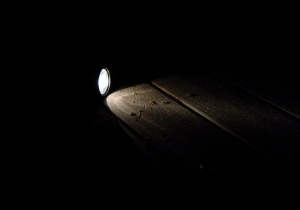 flashlight, dark